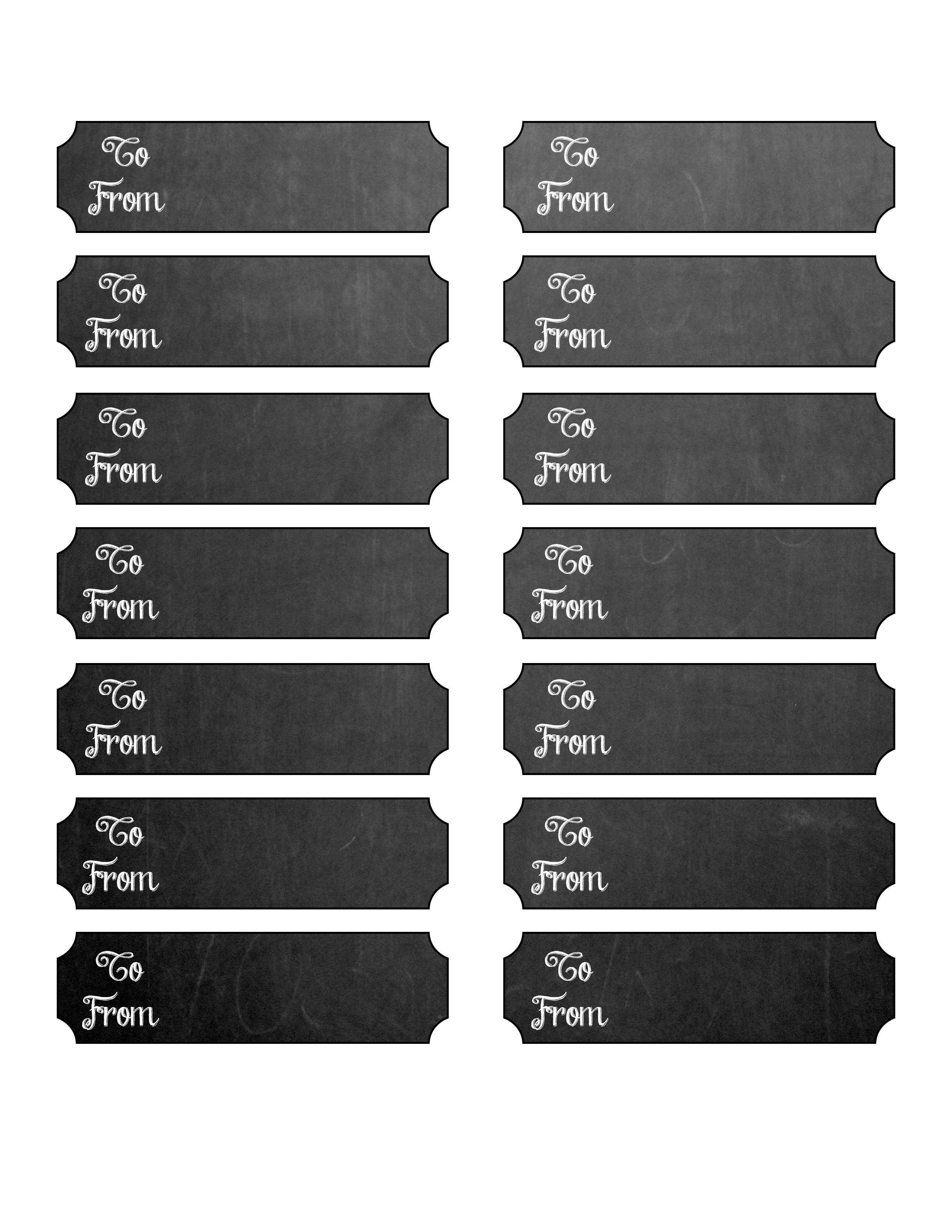 image about Printable Chalkboard Labels referred to as Absolutely free Printable Chalkboard Layout Reward Tags - The Graffical Muse