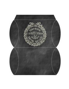 Chalkboard Pillow Box