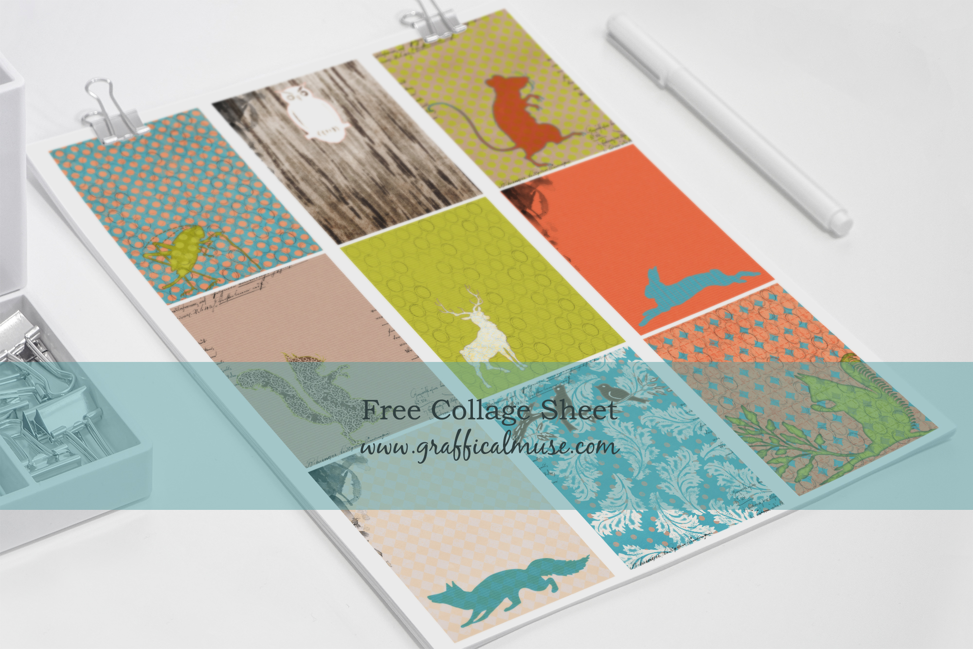 image relating to Free Printable Collage Sheets referred to as Collage Sheets Archives - The Graffical Muse