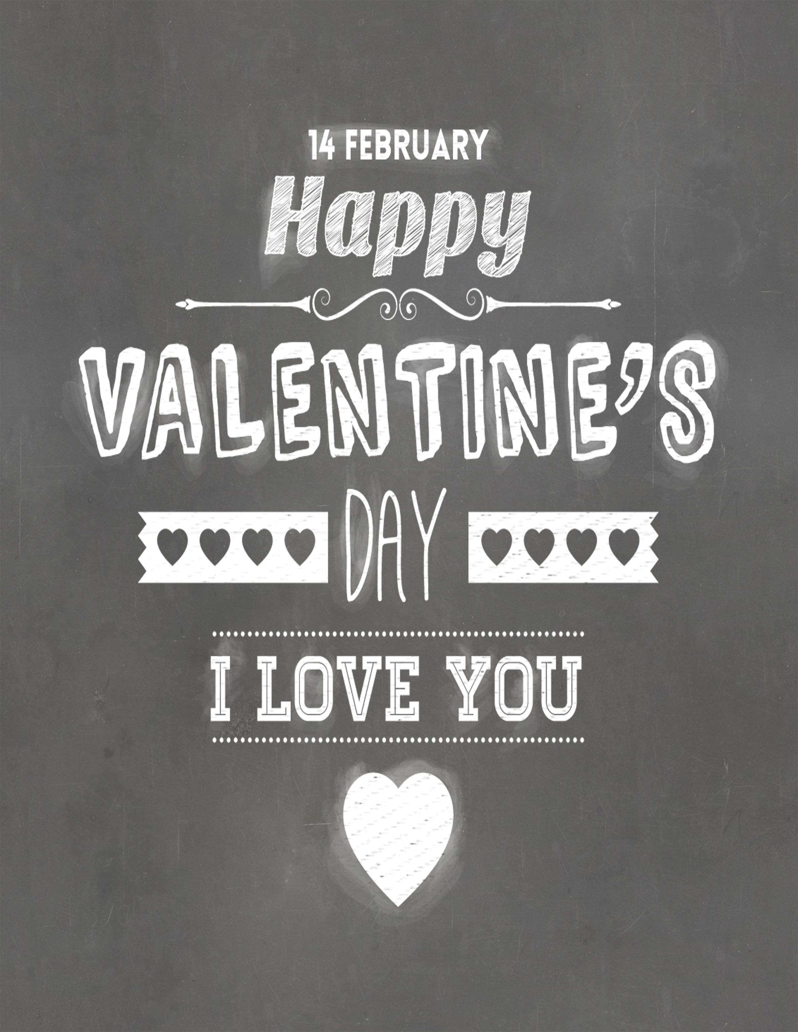 Free Printable Poster Free Printable Poster. Happy Valentineu0027s Day!