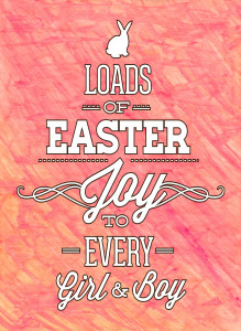 Free Printable Easter Wall Art