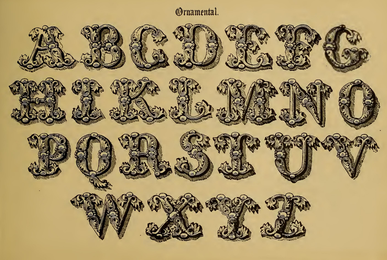 Vintage Lettering Archives