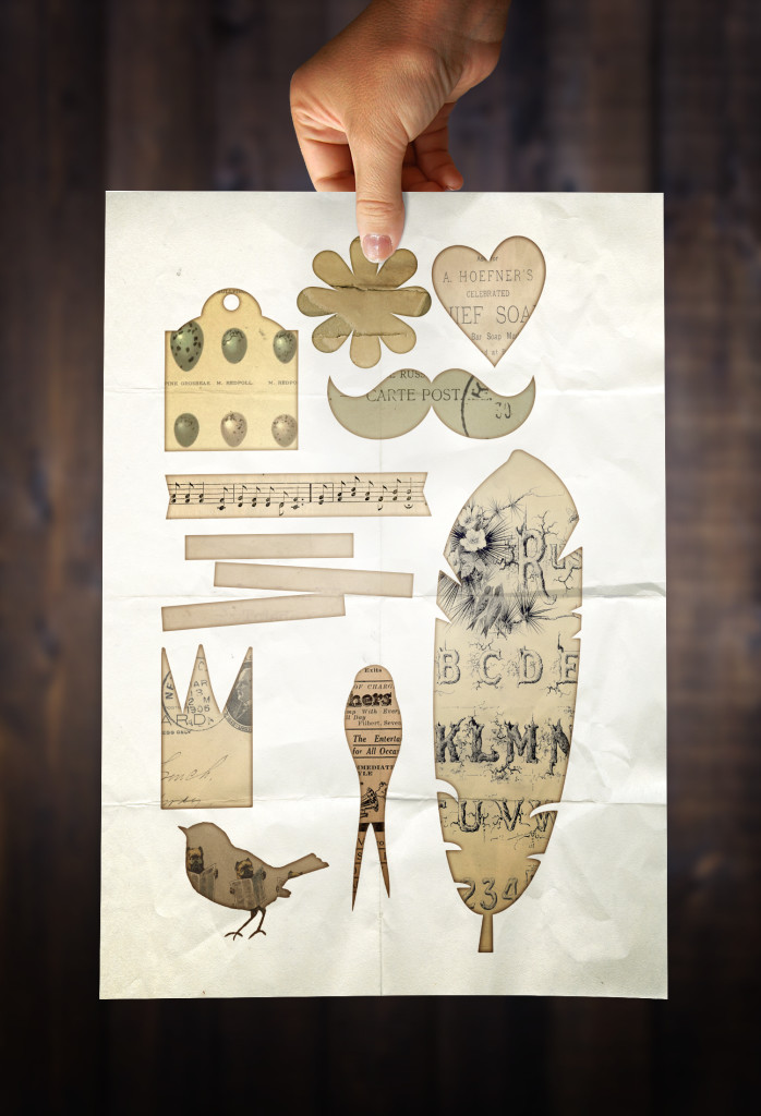 Free Printable Collage Sheet - Birds N Ephemera