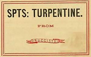 Vintage Pharmacy Label