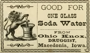Vintage Pharmacy Label