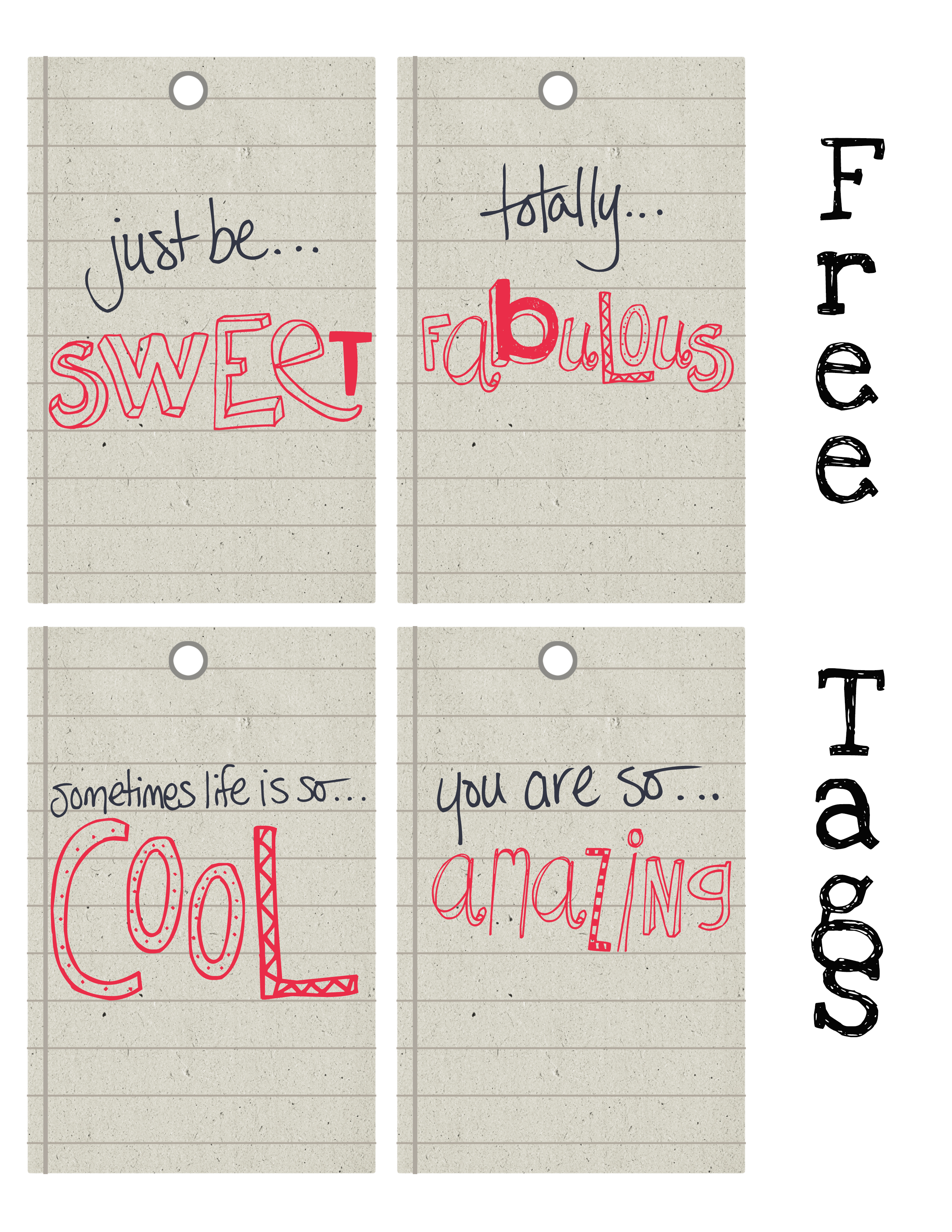 Free Printable Word Art Tags The Graffical Muse