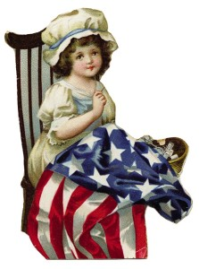 Vintage Patriotic Clip Art - For 4th of July - The ... Vintage Americana Graphics