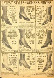 Vintage Shoe Illustrations
