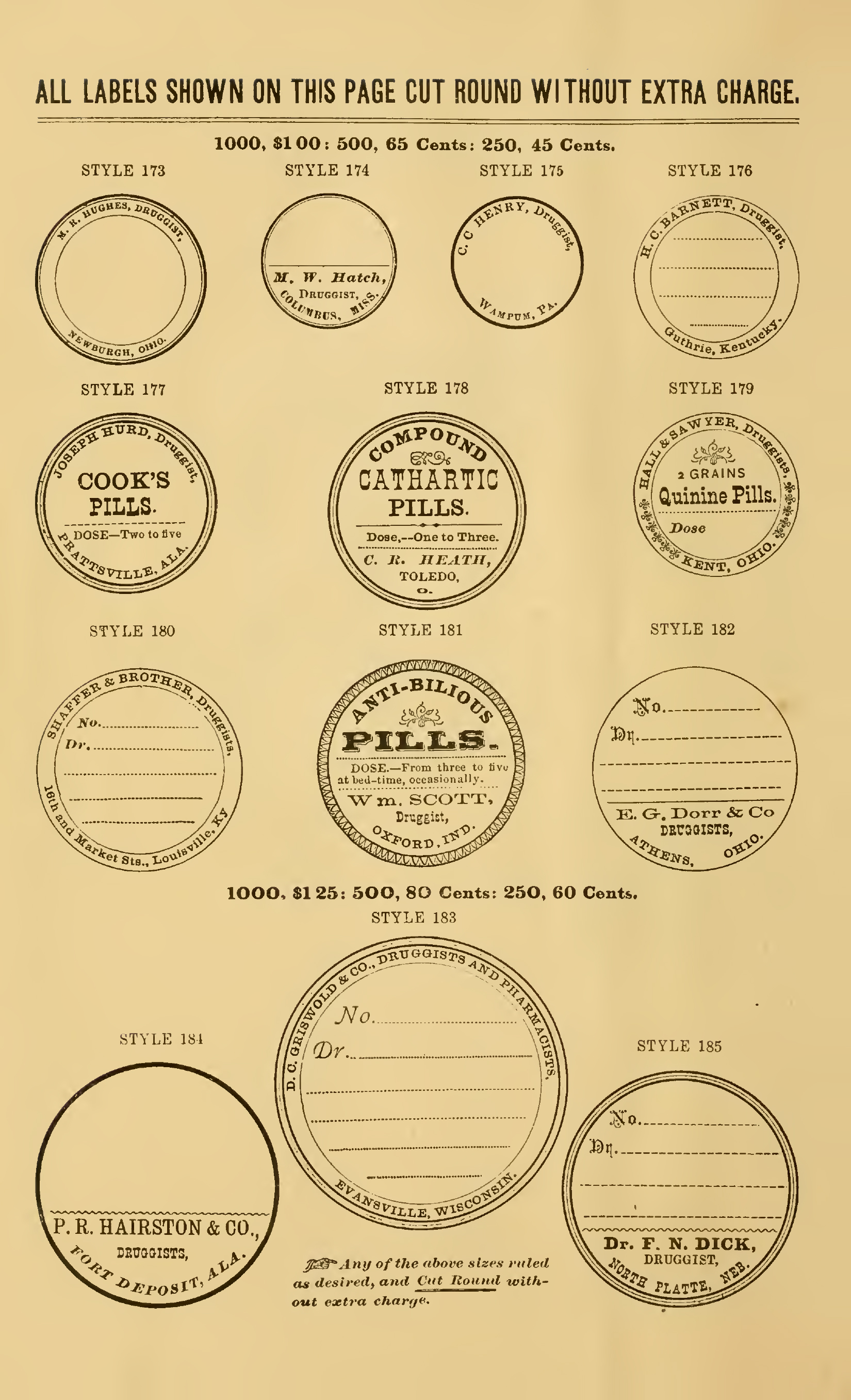 blank apothecary labels - photo #18