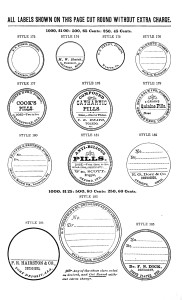 Vintage Apothecary Labels - Blank