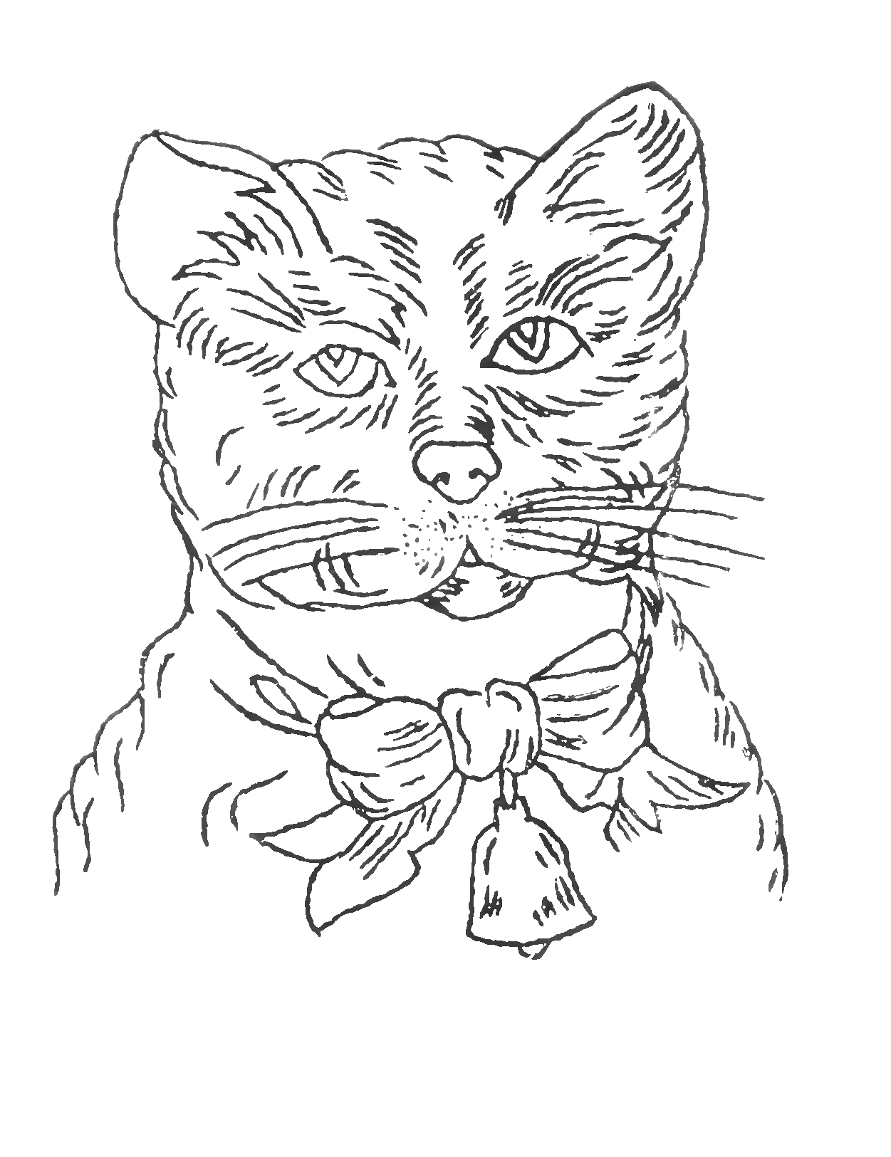 Embroidery patterns archives the graffical muse free victorian embroidery pattern cat bankloansurffo Image collections