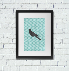 Free Printable Bird Poster Fall