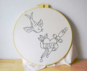 Free Embroidery Pattern Printable - Tattoos