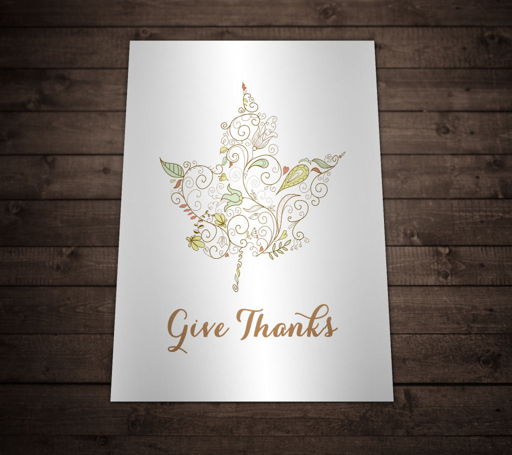 Free Printable Wall Art - Give Thanks
