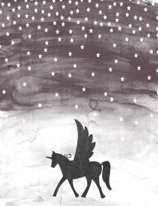 Free Printable Unicorn Wall Art