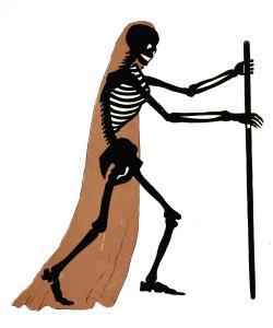 Vintage Skeleton Illustration