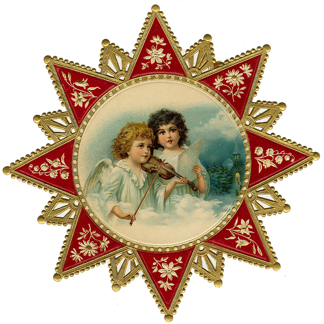 free victorian christmas clipart - photo #33