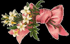 Vintage Victorian Die Cut Clip Art