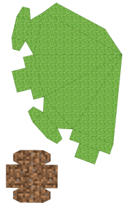 Free Printable Minecraft 3d Christmas Tree