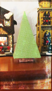 Minecraft Paper Christmas Tree