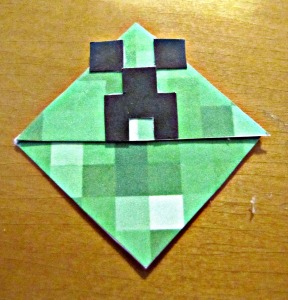 Minecraft Creeper Corner Bookmark (6)