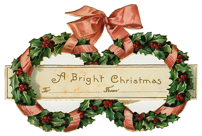 free victorian christmas clipart - photo #35