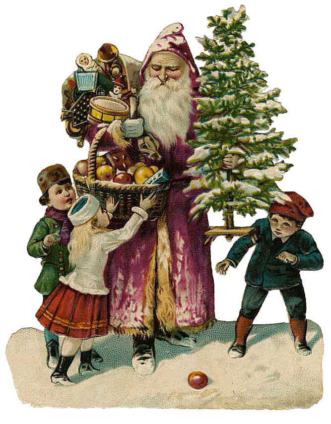 free victorian christmas clipart - photo #42