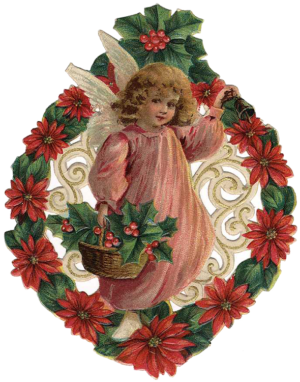 free victorian christmas clipart - photo #1