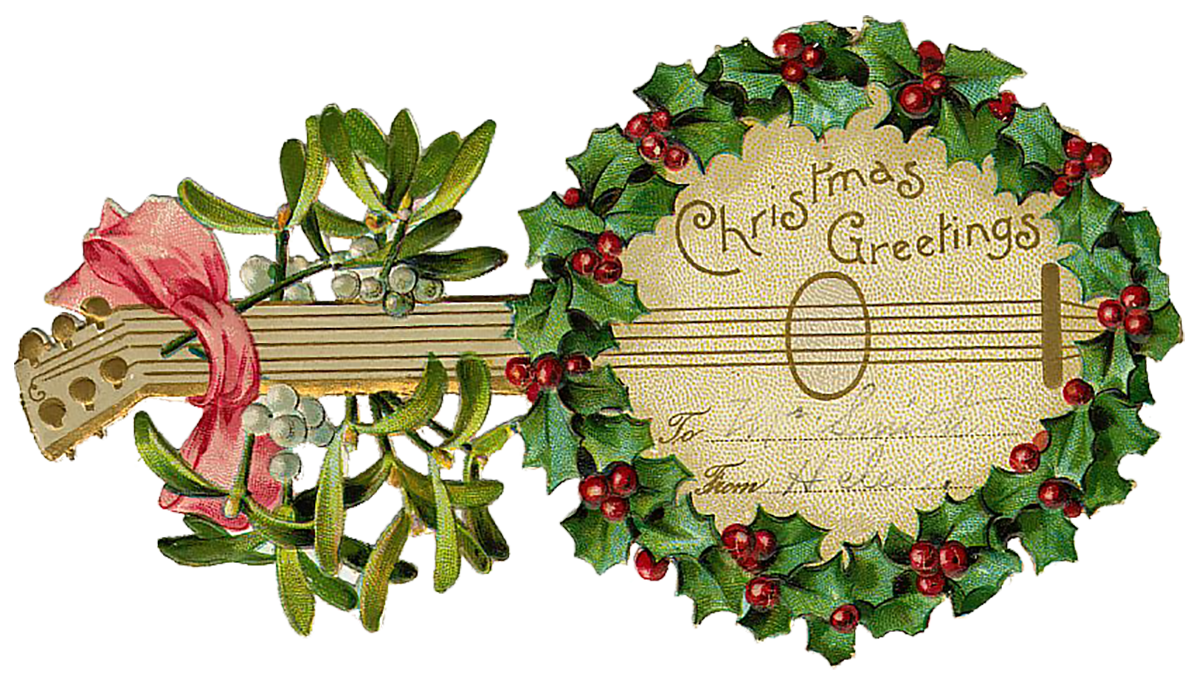 Free vintage christmas clipart