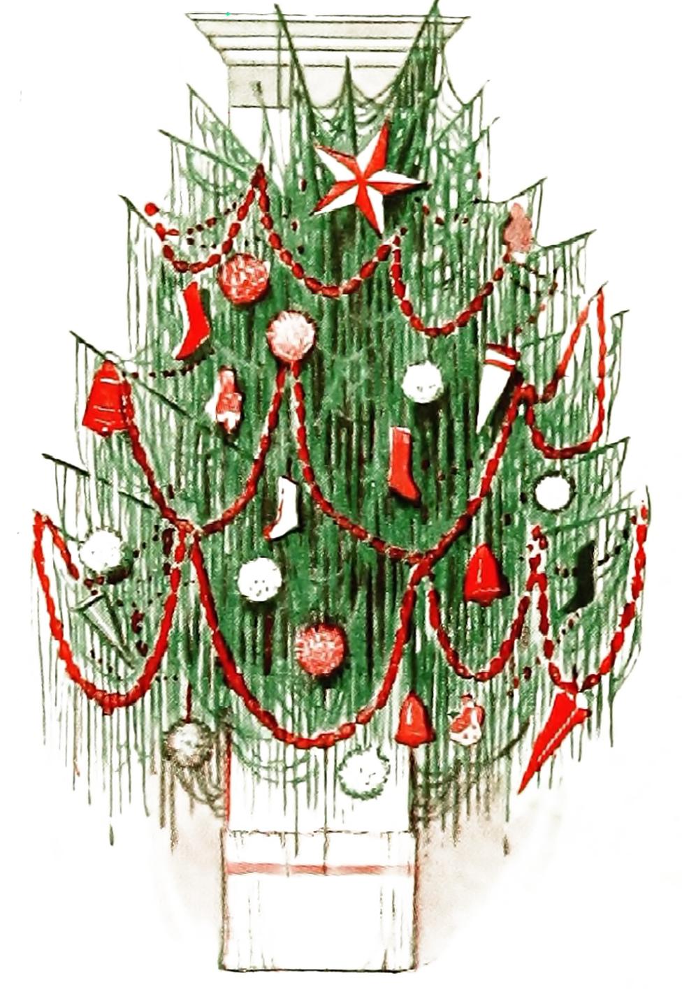 Vintage Christmas Illustrations.Vintage Christmas Clip Art Illustrations The Graffical Muse