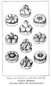 Vintage Illustration - Fancy Cakes