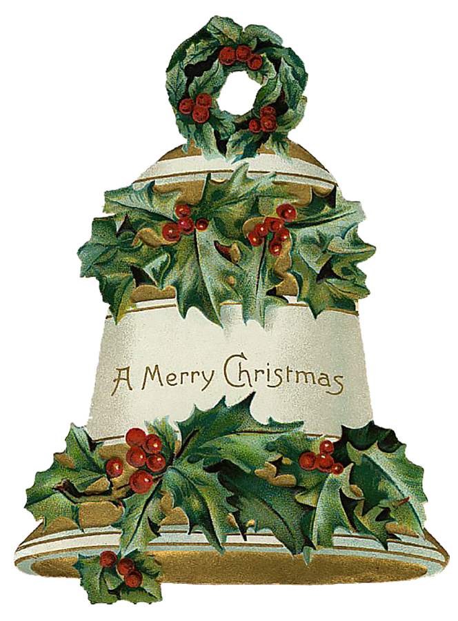 Vintage Victorian Christmas Die Cut Clip Art Day 12 - The ...