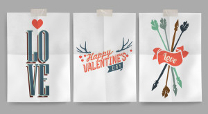 Free Printable Valentine's Day Wall Art Posters