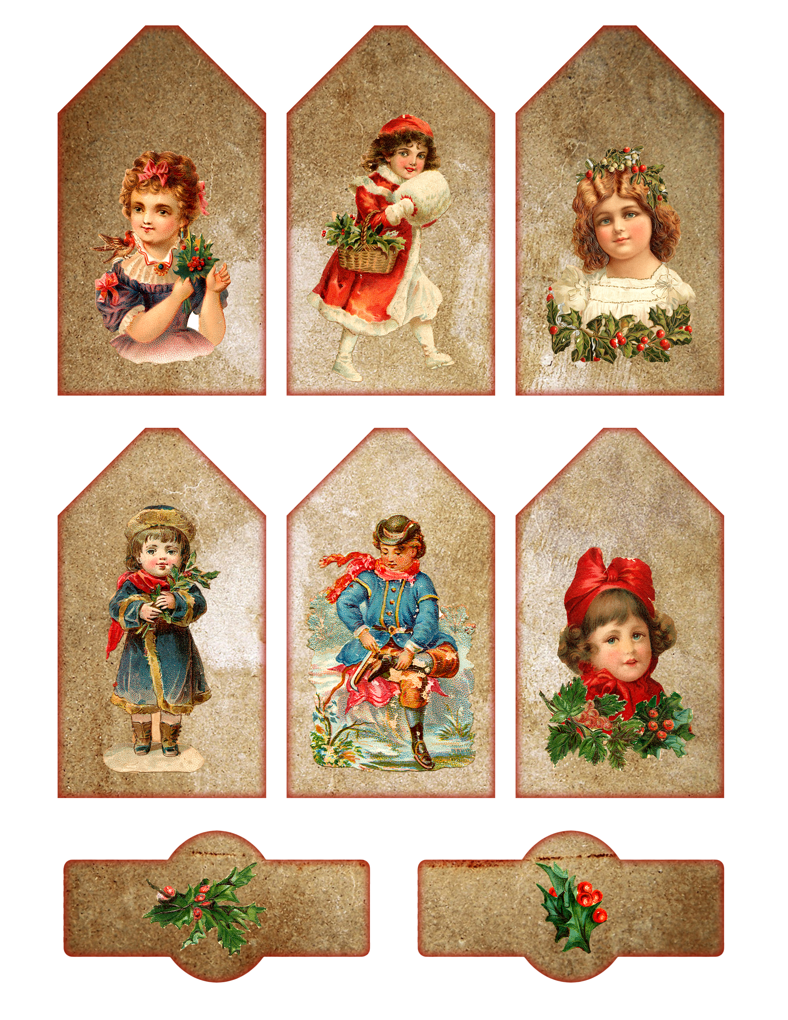 This is a photo of Priceless Vintage Christmas Labels to Print