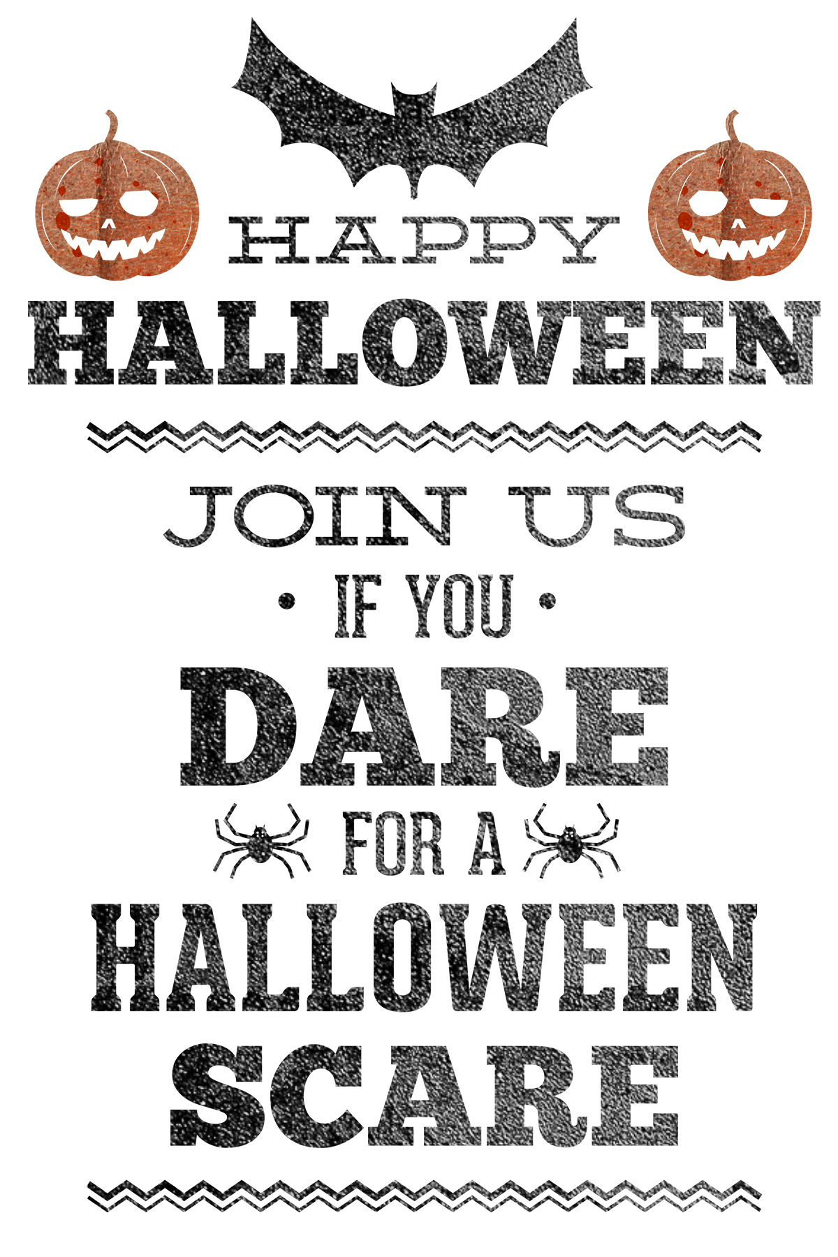 It is a graphic of Free Printable Halloween Party Invitations with regard to menu